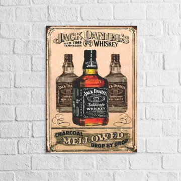 Placa Decorativa Jack...